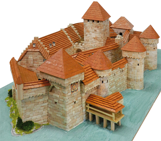 Chateau de Chillon maqueta