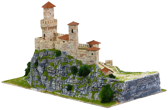 Rocca Guaita building set model kit