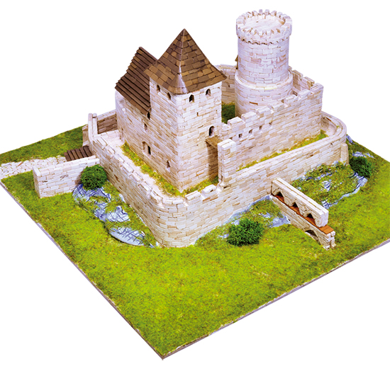Model kit del Castillo de Bedzin
