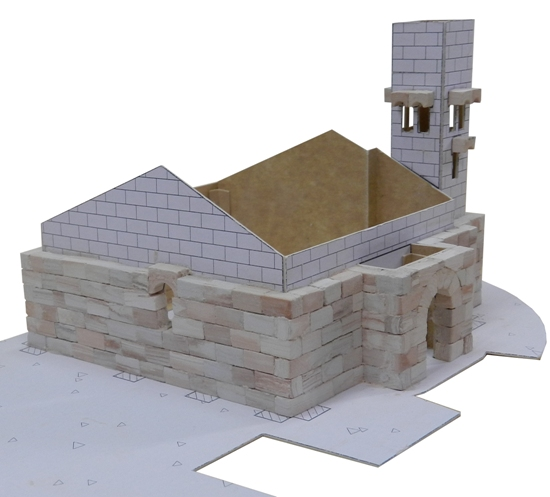 Church model bulding kit