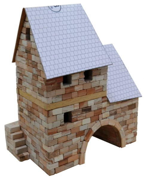 country cottage building set