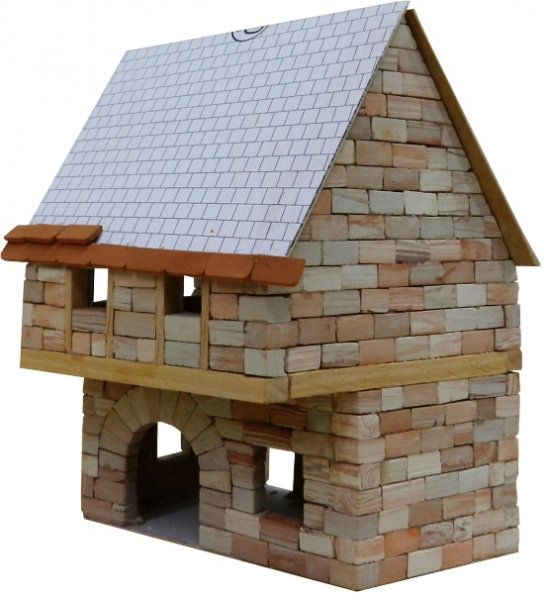 Country cottage model kit