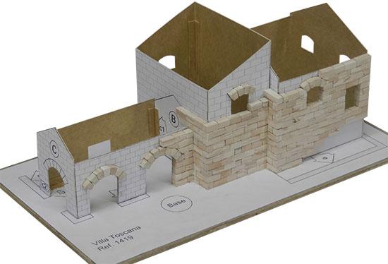 kit de construcci n para la reproducci n de la villa toscana. Black Bedroom Furniture Sets. Home Design Ideas