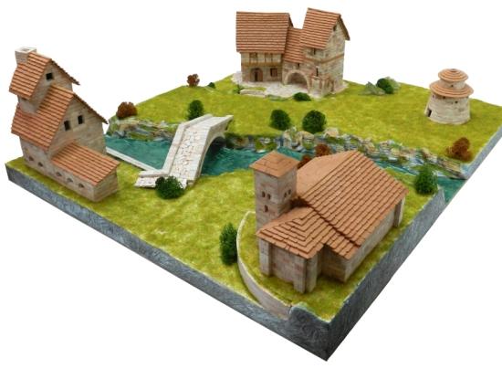Conjunto rural Diorama