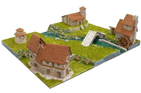 Maqueta del Conjunto rural