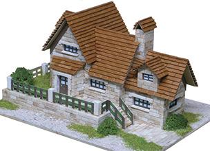 roof tiles grass model