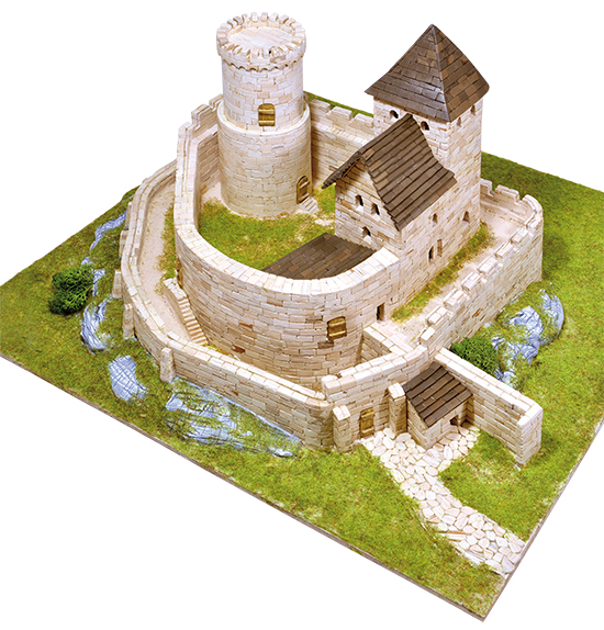 Bedzin Castle model kit