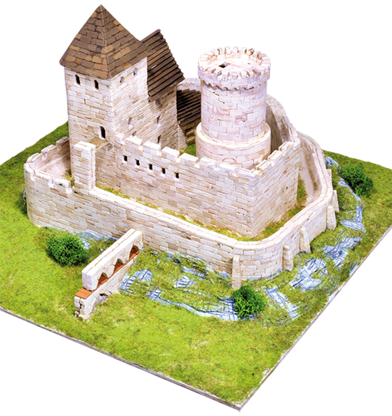 Poland castle model kit