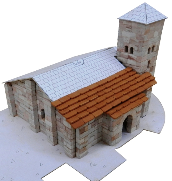 Iglesia de Santa Cecilia model kit